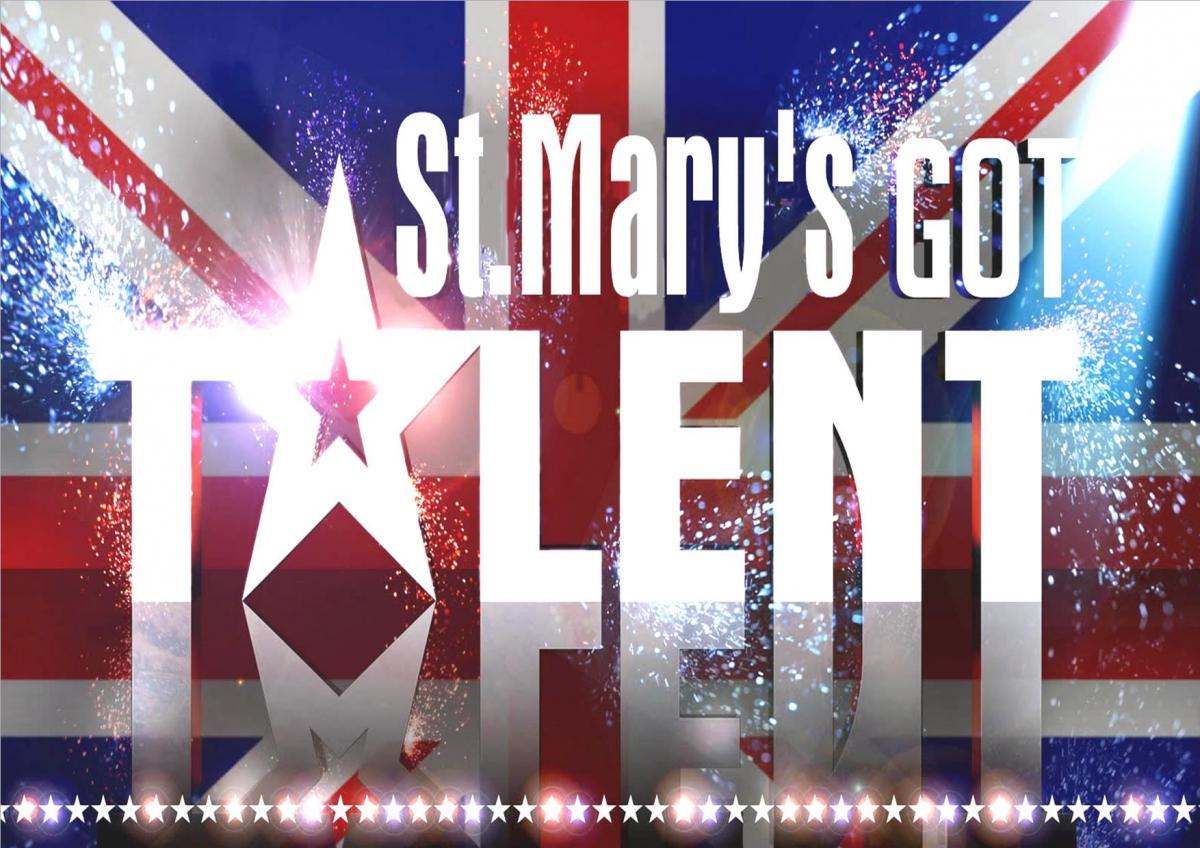 StMarys talent Poster